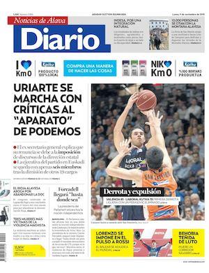 huge discount d35f3 41d34 Diario de Noticias de Álava 20151109