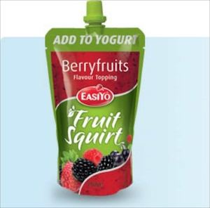 Fruit Squirt Toppings With Delicious Real Fruit Squirt From Easiyo While Stocks Last 74708
