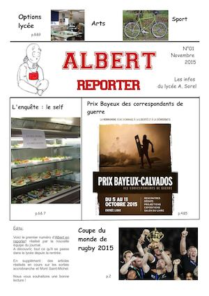 Albert Reporter 01 Journal lycéen