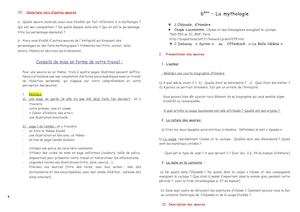 l odyssee questions reponse 6eme