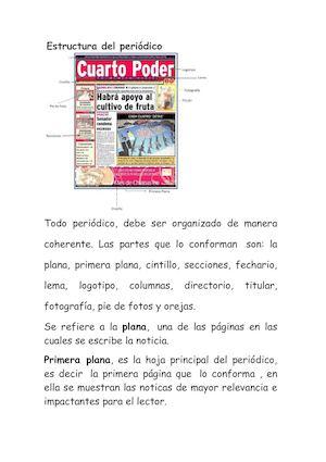 Calaméo Estructura Del Periódico