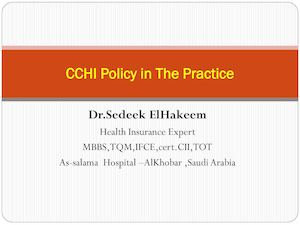 Cchi In The Practice Benefits 1ed