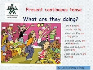 Identify the tenses