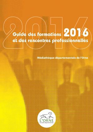 Guide des formations 2016