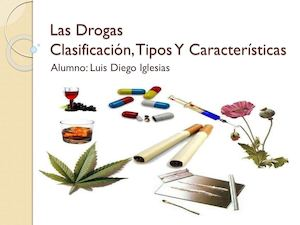 que son las drogas y como se clasifican wikipedia