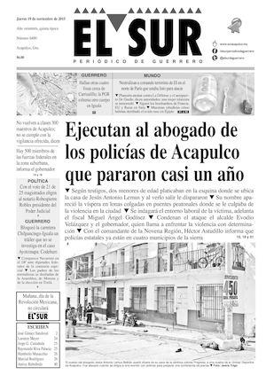 Calaméo - El Sur Jueves 19112015