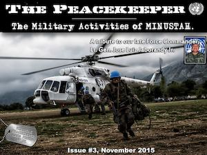 Nov 2015, English, 3rd Issue Peacekeepers Magazine