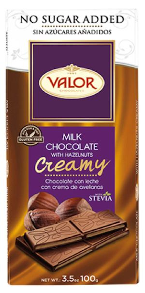 Valor No Sugar Added Milk Chocolate With Hazelnuts For P68 50 At Dealspot Till November 23 201575009 75009