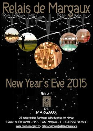New Year's Eve Relais de Margaux