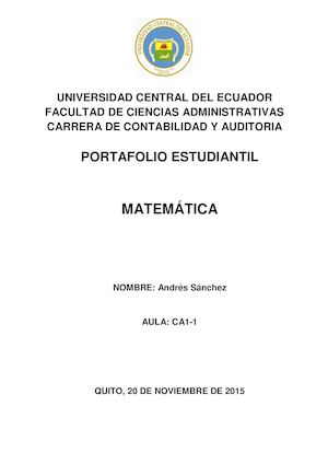 Calaméo - Sanchez Andres CA1 1 Calameo