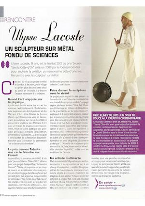 Côte D'Or Magazine N°128, Fev 2013