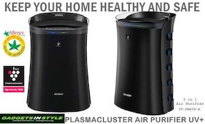 Sharp Plasmacluster Air Purifier Uv Available At Gadgets In Style While Stocks Last 75243