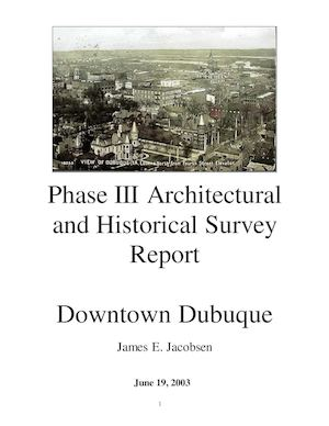 Calaméo   Phase III Architectural And Historical Survey Report