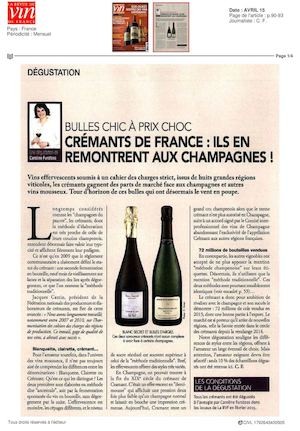 La Revue Du Vin De France Cremants De France