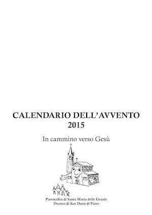 Calendario avvento 2015