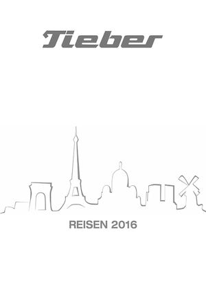 Calaméo Tieber Reisen Katalog 2016