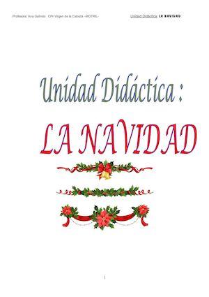 Calameo Unidad Didactica La Navidad Ana Galindo