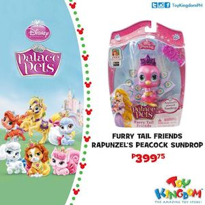 Furry Tail Friends Rapunzels Peacock Sundrop For Php399 75 At Toy Kingdom While Stocks Last 75916