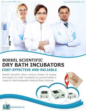 Boekel Scientific Dry Bath Incubators – Cost-effective and Reliable