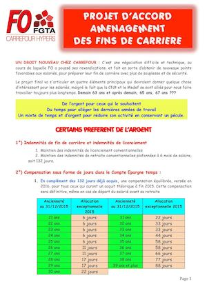 Tract 4 Pages Nego Fin De Carrierre