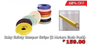 Get 68 Off On Baby Safety Bumper Strips At Dealspot Till January 31 201675929 75929