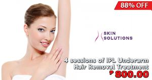 Calaméo - 4 Sessions Of Ipl Underarm Hair Removal Treatment