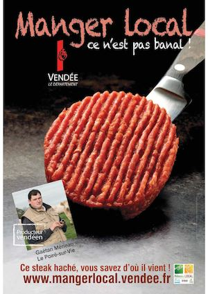 Manger Local Campagne Affichage