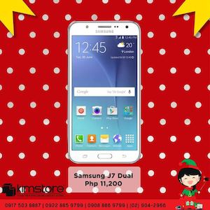 Get Your Samsung Galaxy J7 Dual For Only Php11200 At Kimstore While Stocks Last 76011