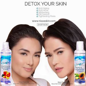 Detox Your Skin With Our Best Selling Toners And Soaps At Nisce Skin N Face 76035