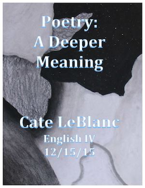 LeBlanc Poetry Exam Portfolio