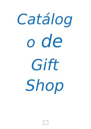 Catalogo de Gift Shop