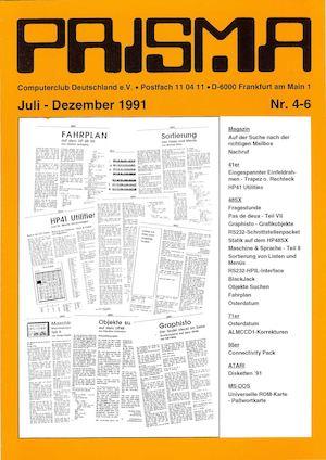Calaméo - Prisma 1991 Nr 4+6