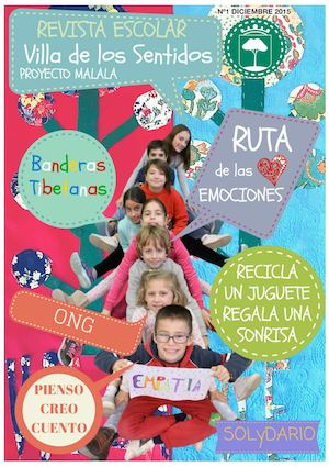 Revista Escolar Malala Newsletter