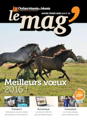 Magazine intercommunal Janvier 2016