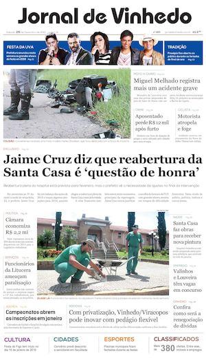 1bb8e3249544 Calaméo - Jornal De Vinhedo Sábado 26 De Dezembro De 2015 Edic 1571 Ok
