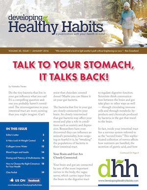 Developing Healthy Habits - January 2016