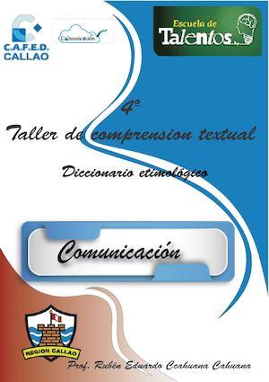 Calaméo - 4 Tct Diccionario Etimológico