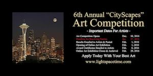 Cityscapes 2016 Online Art Competition - Event Poster