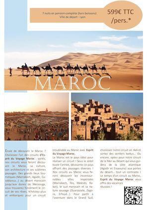 voyage maroc pension complete