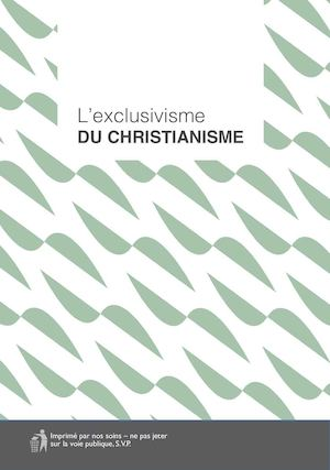 L'exclusivisme du christianisme