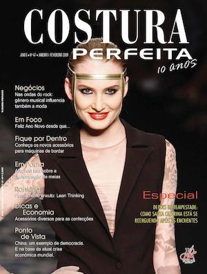 fd16e36a83 Revista Costura Perfeita Edição Ano X - N47 -Janeiro-Fevereiro 2009