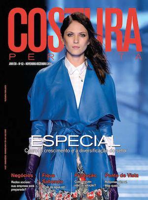 0a3f31963 Revista Costura Perfeita Edição Ano XVI - N82 - Novembro-Dezembro 2014