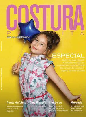 Revista Costura Perfeita Edição Ano XVI - N83 - Janeiro-Fevereiro 2015 79a7cfa8d900