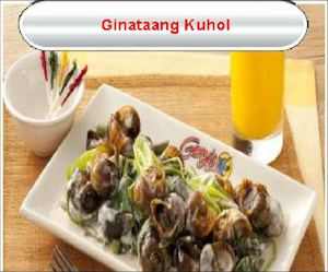 Ginataang Kuhol For Only Php195 Available At Gerrys Grill While Stocks Last 77484