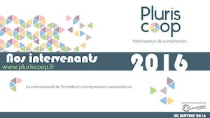 Pluriscoop : les intervenants