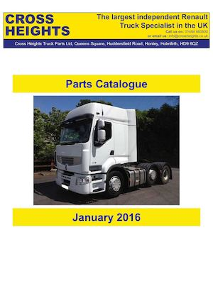 Cross Heights January 2016 Parts Catalogue