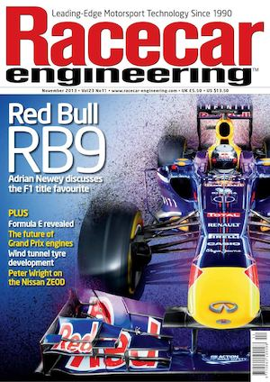 Racecar Engineer November 2013