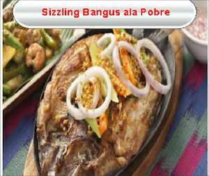 Sizzling Bangus Ala Pobre For Only Php285 Available At Gerrys Grill While Stocks Last 77550