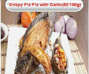 Crispy Pla Pla With Garlic For Only Php260 Available At Gerrys Grill While Stocks Last77551 77551