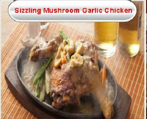 Sizzling Mushroom Garlic Chicken For Only Php275 Available At Gerrys Grill While Stocks Last 77561